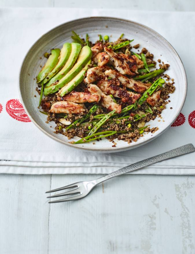 Recipe: Asian chicken and ginger salad