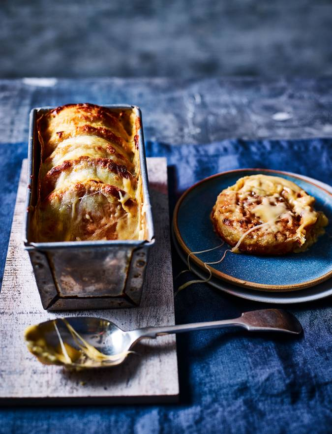 Recipe: Cheese and Marmite crumpet loaf