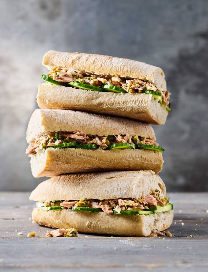 Recipe: The new tuna baguette