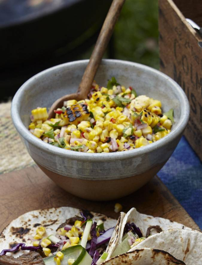 Recipe: Charred corn salsa