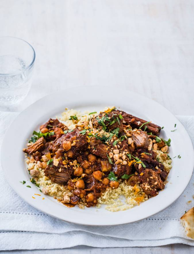 Recipe: Lamb, apricot & chickpea tagine