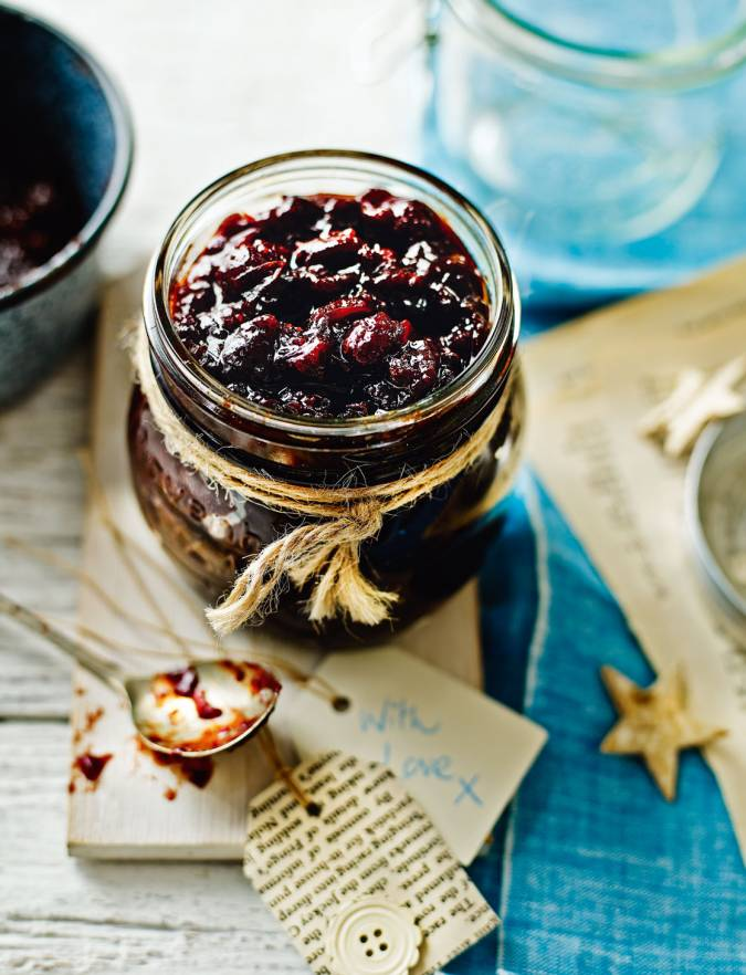 Recipe: Mulled cranberry and red onion chutney
