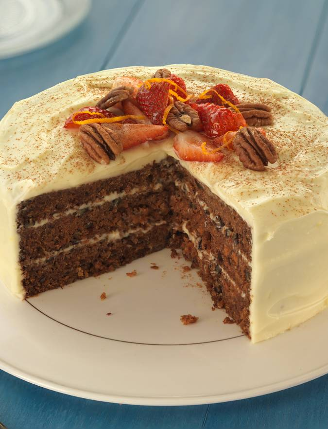 Recipe: Cinnamon and orange carrot cake