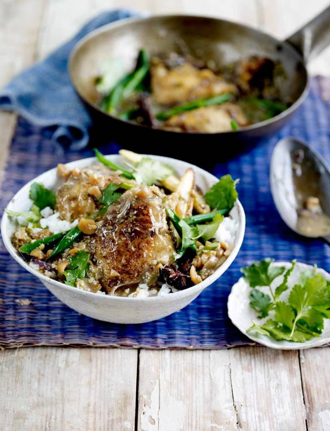 Recipe: Chicken and peanut coconut curry