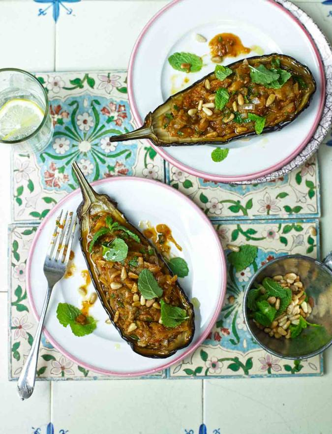 Recipe: Turkish stuffed aubergines