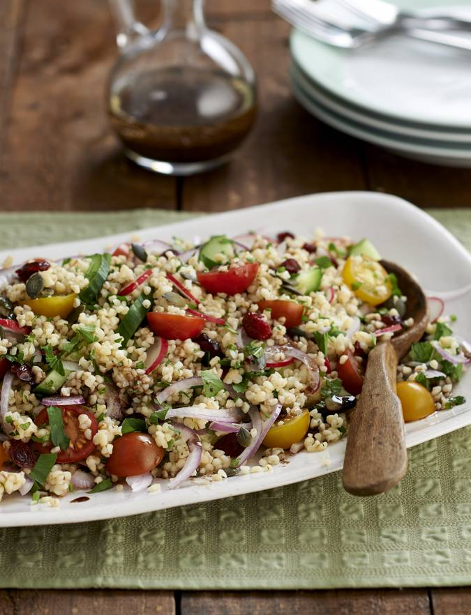 Recipe: Bulgur wheat salad