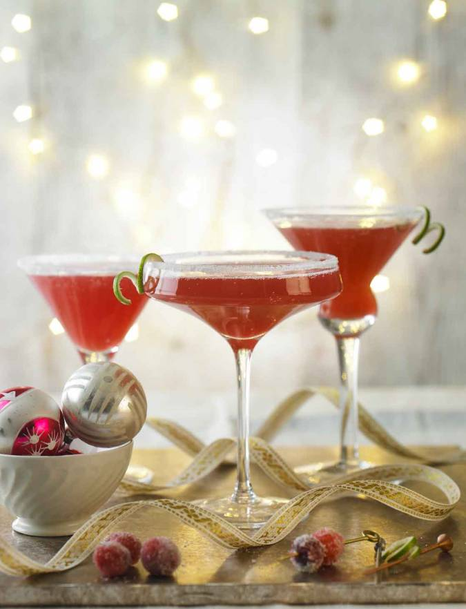 Recipe: Spiced cranberry Martinis
