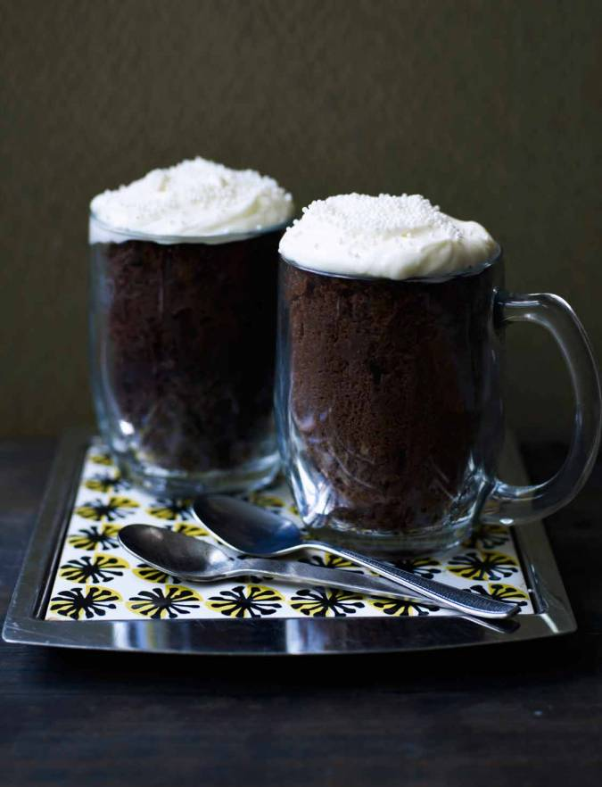 Recipe: Guinness mug cake