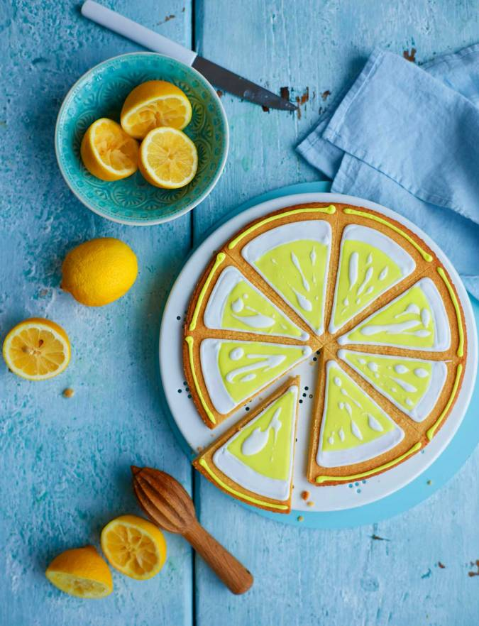 Recipe: Lemon and almond biscuits