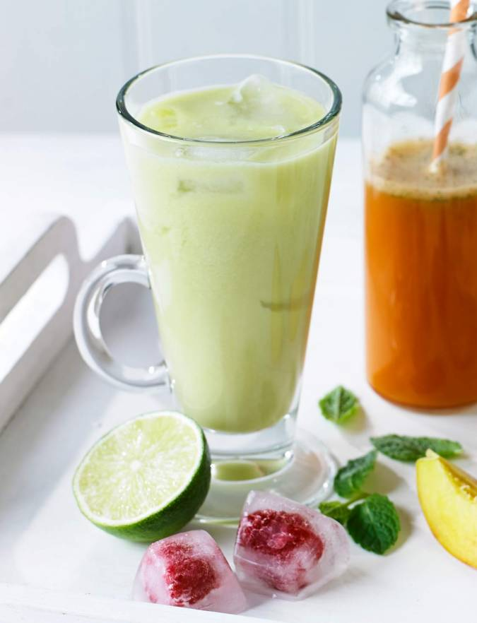 Recipe: Apple, pineapple and lime juice