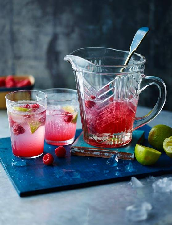 Recipe: Raspberry, lime and rose cordial