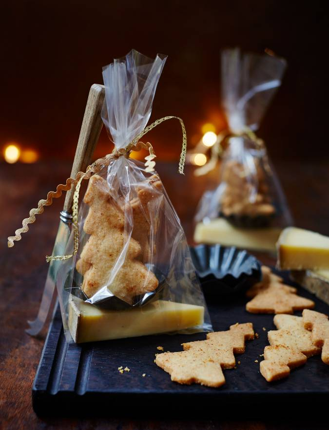 Recipe: Parmesan shortbreads