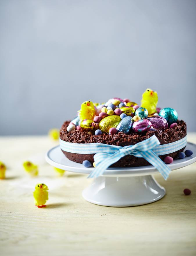 Recipe: Giant Easter nest