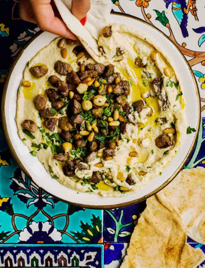 Recipe: Houmous with meat