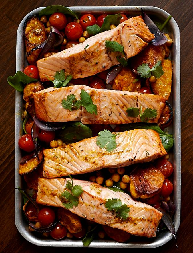 Recipe: Indian-style salmon