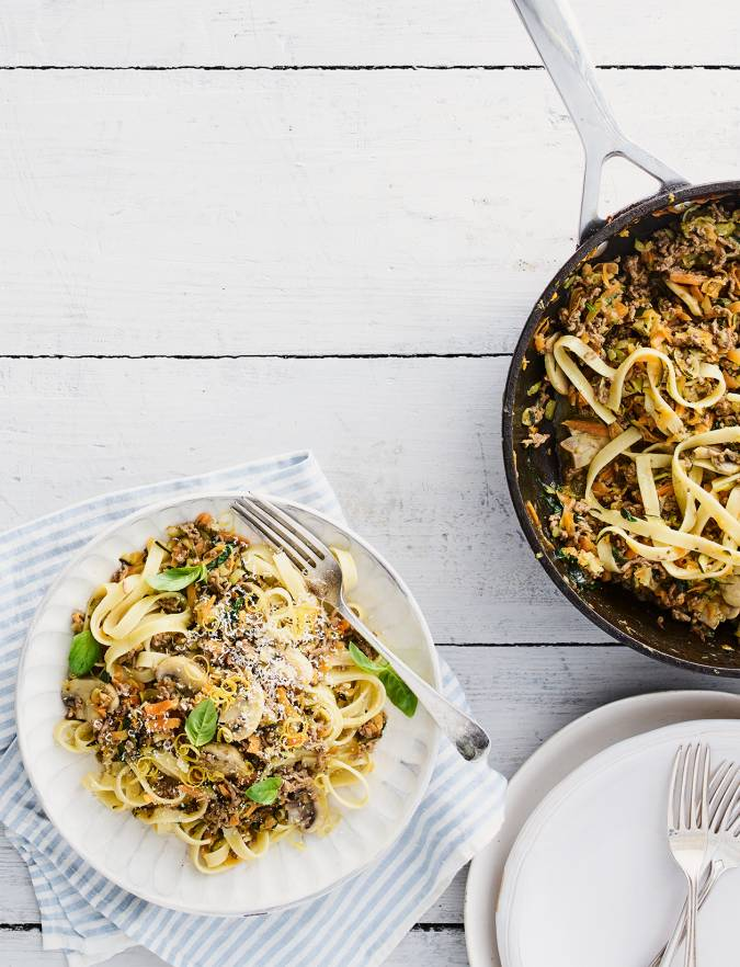 Recipe: Summer tagliatelle ragu