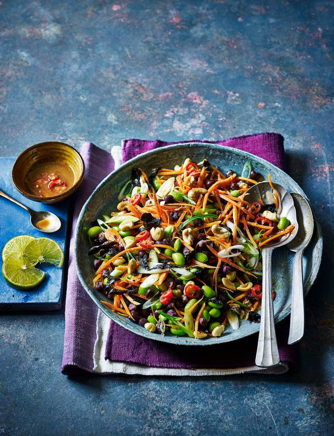 Recipe: Asian bean salad