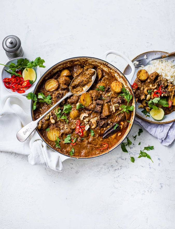 Beef And Cashew Massaman Curry Recipe Sainsbury S Magazine