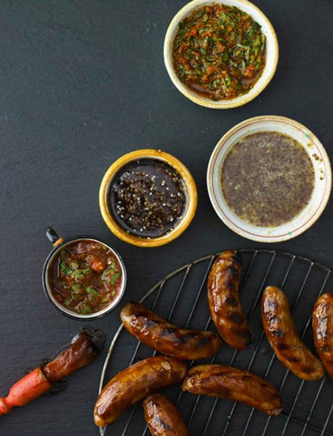 Recipe: Classic smoky barbecue sausages