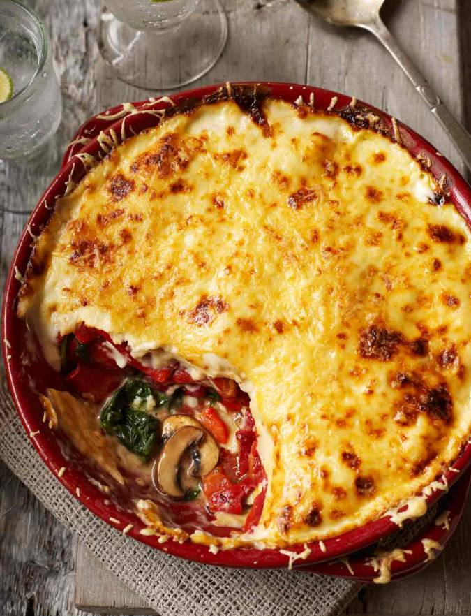 Recipe: Speedy vegetable tortilla 'lasagne'