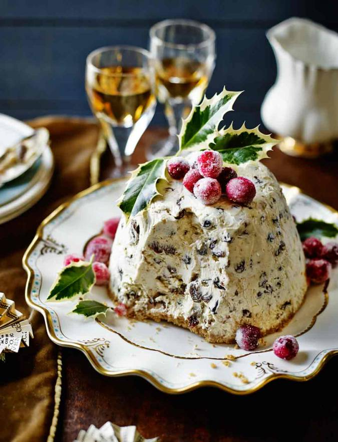 Recipe: Iced Christmas pudding