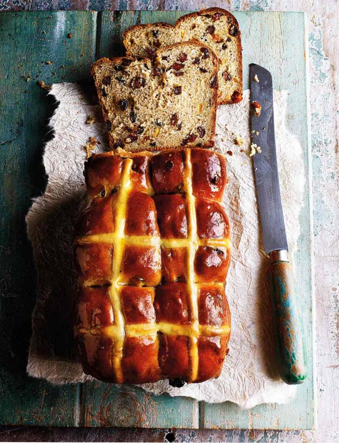 Recipe: Hot cross bun loaf