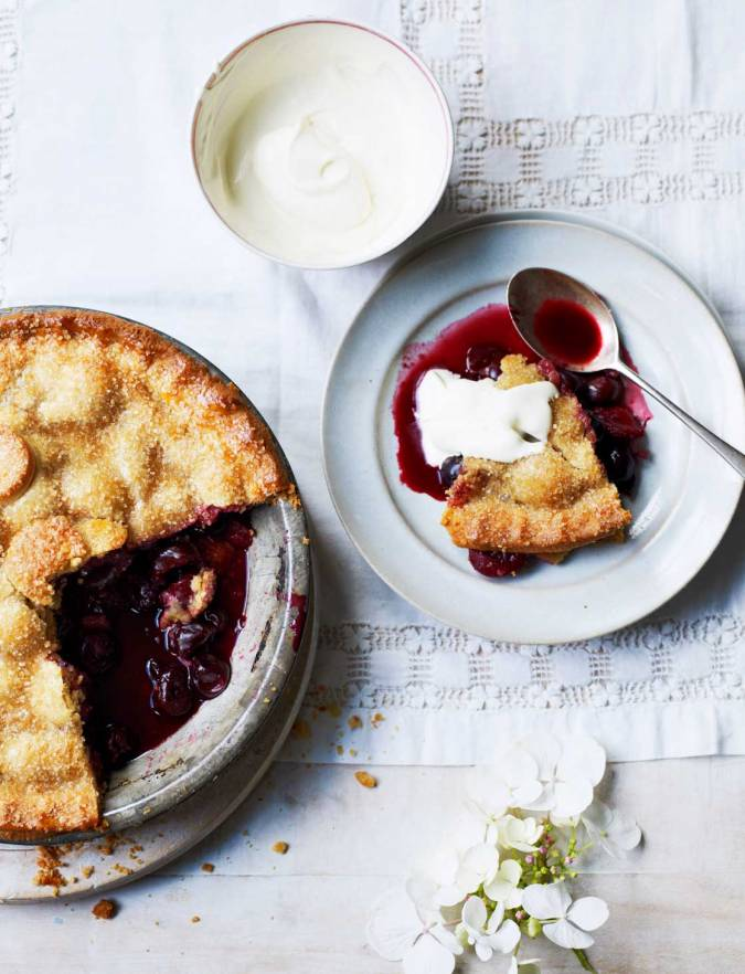 Recipe: Cherry pie with a buttermilk crust