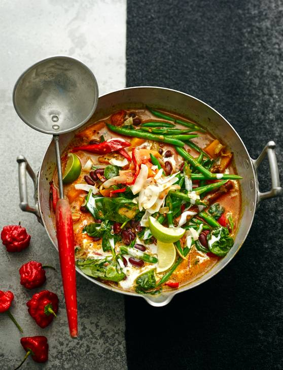 Recipe: Caribbean vegetable curry