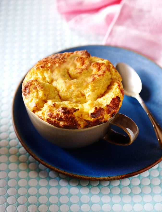 Recipe: Roasted pumpkin and sage soufflé