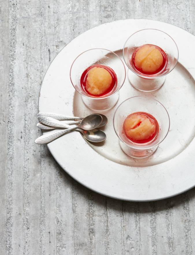 Clementine sorbet | Sainsbury's Magazine