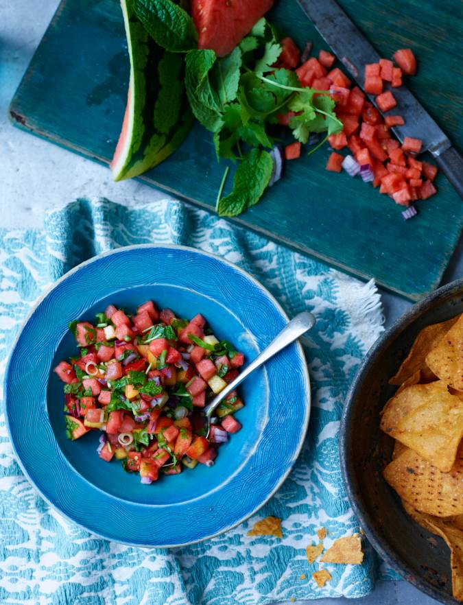Recipe: Spicy watermelon salsa