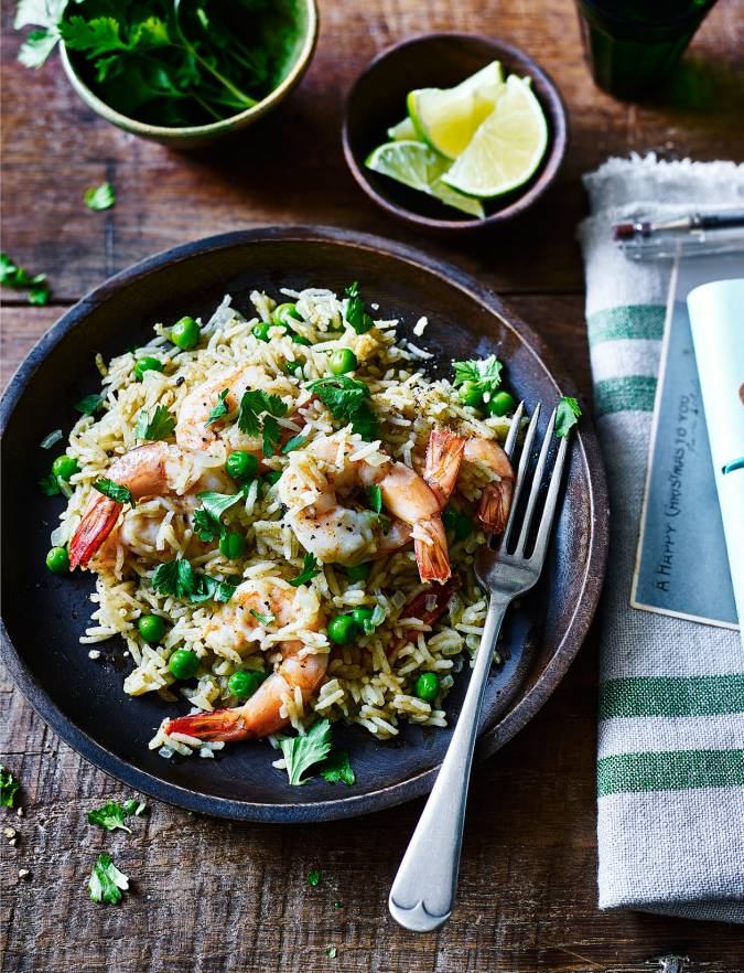Recipe: Thai prawn and coconut rice