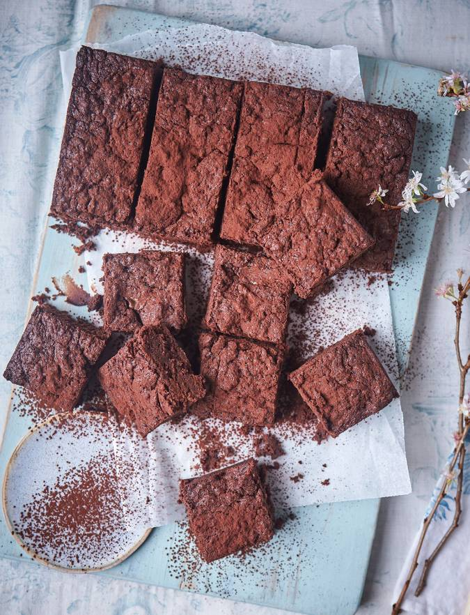 Recipe: Dark chocolate, ginger and sweet potato brownies