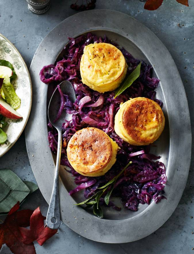 Recipe: Double-baked cheese soufflés