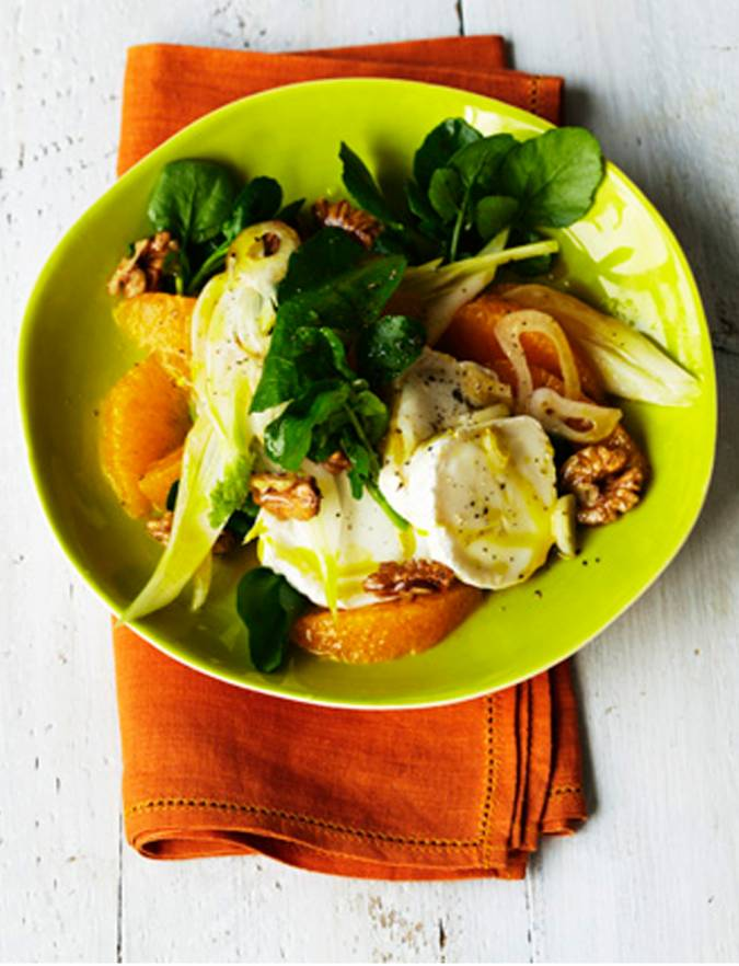 Recipe: Orange & fennel salad with goats' cheese