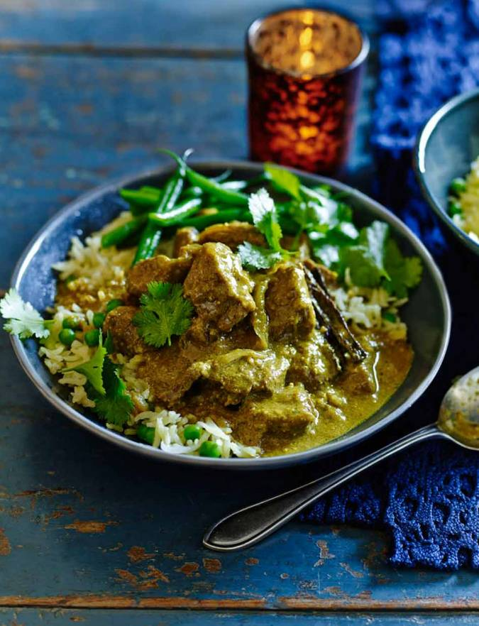 Recipe: Coconut and cinnamon beef curry