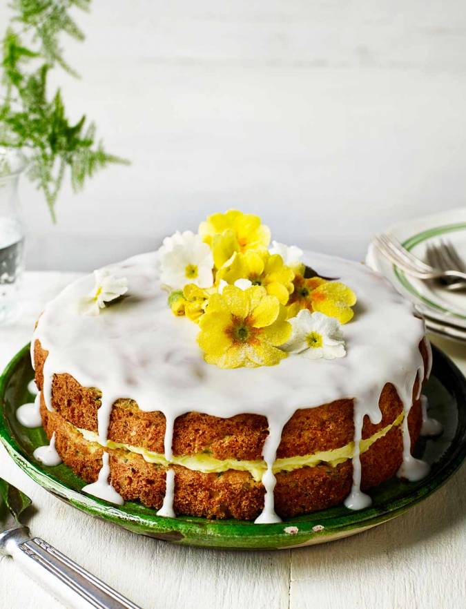 Vegan Courgette Lemon Cake
