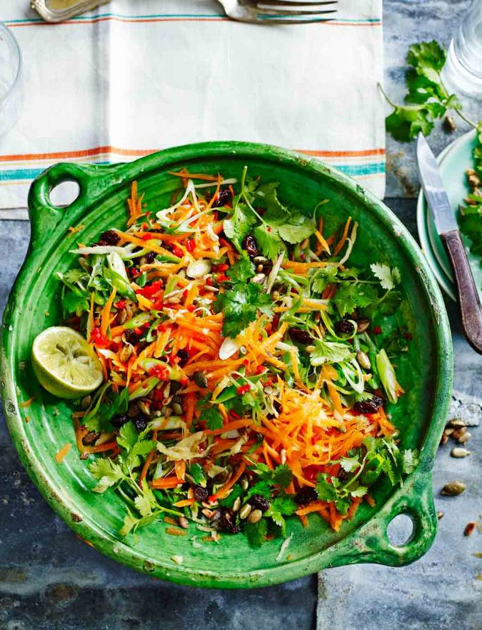 Recipe: Zingy carrot salad
