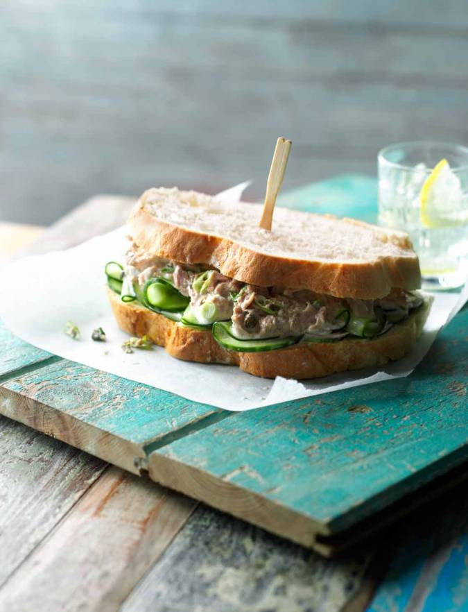 Recipe: Doorstop tuna sandwich