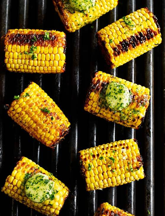 Recipe: Mexican-spiced corn on the cob with garlic and herb butter