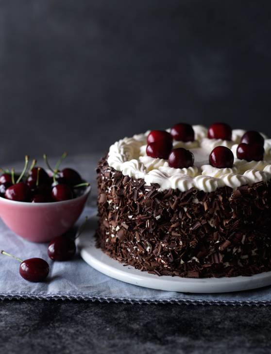 Recipe: Proper Black Forest gateau