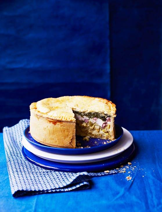 Recipe: Chicken, leek and bacon pie