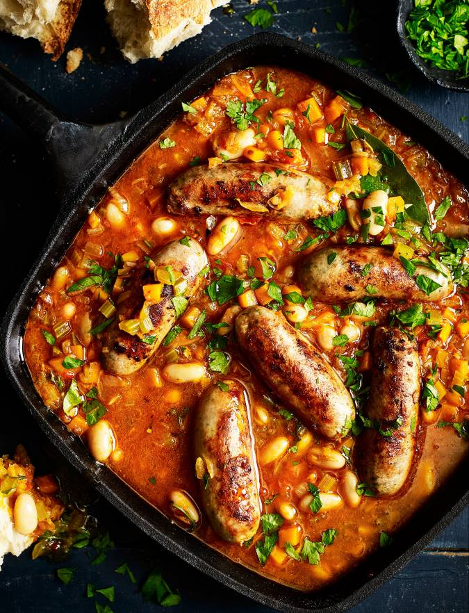 Recipe: Cheat's sausage cassoulet
