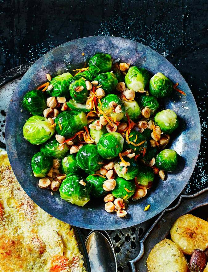 Recipe: Brussels sprouts with brown butter and hazelnuts