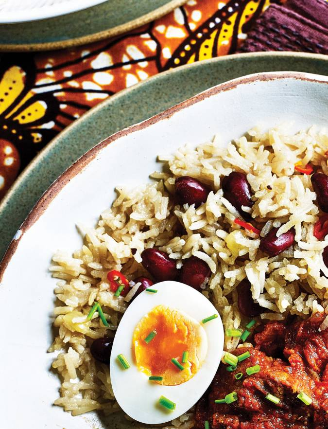 Recipe: Ghanaian rice