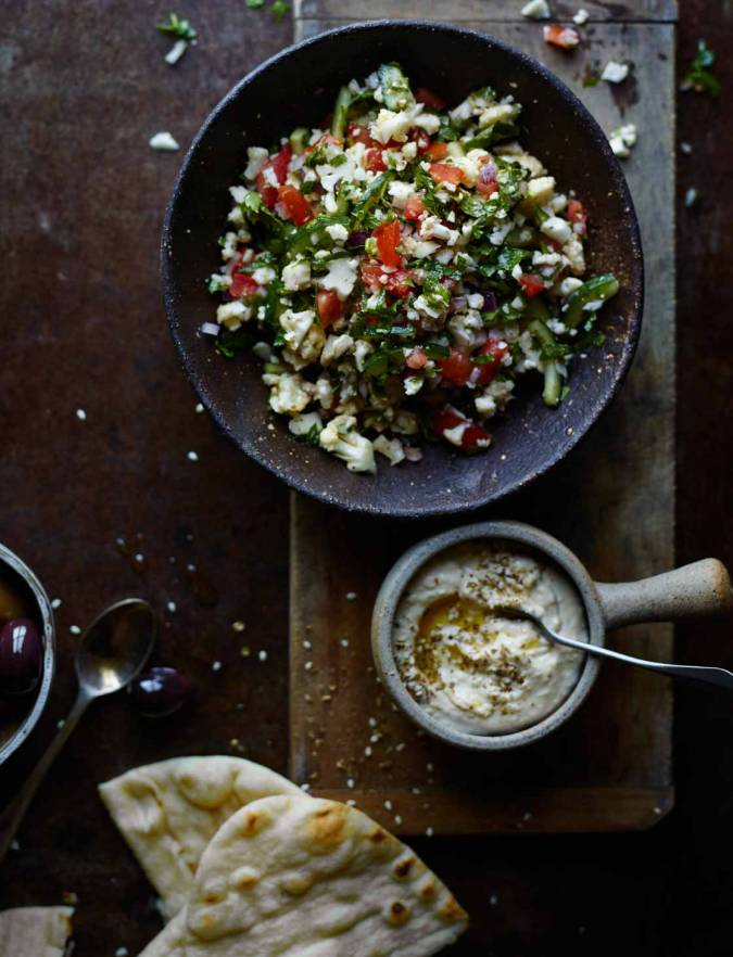 Recipe: Cauliflower tabbouleh