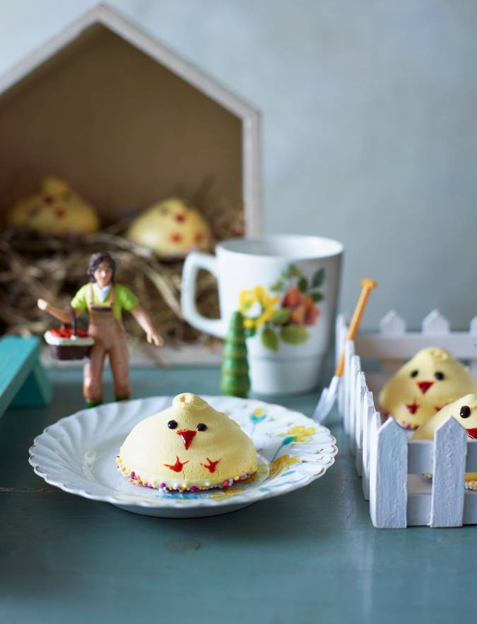 Recipe: Meringue chicks