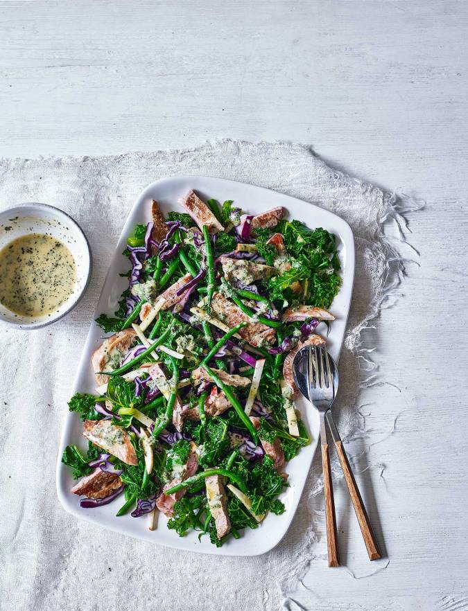Recipe: Pork and apple winter salad