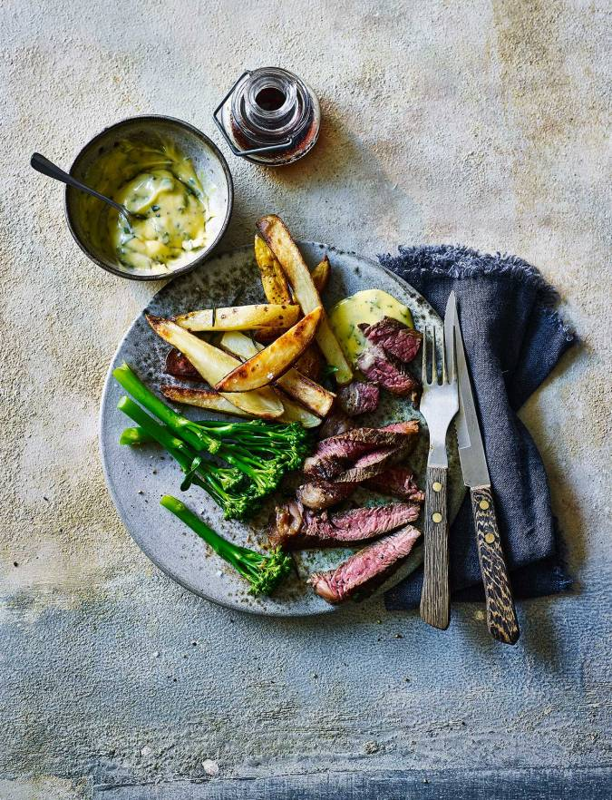 Recipe: Soy-butter steak with béarnaise sauce