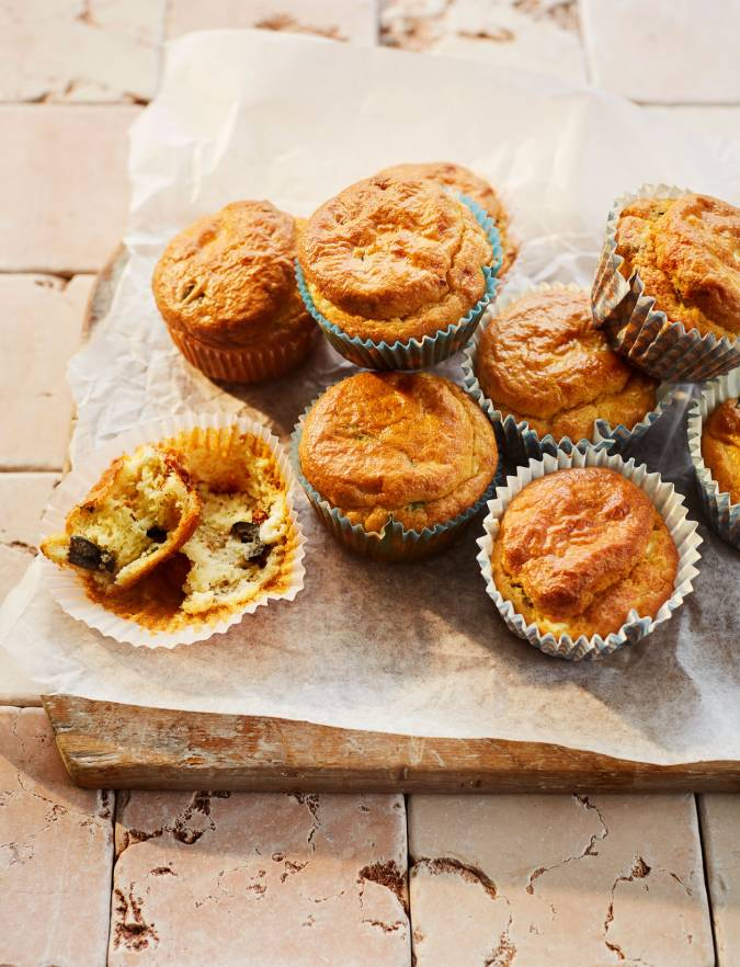 Recipe: Sundried tomato and feta savoury muffins